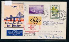 13536) LH FF Paris - San Francisco 13.5.60, SoU ab Monaco