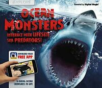 iExplore - Ocean Monsters by Nicola Davies Book The Fast Free Shipping