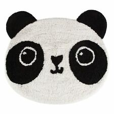 KAWAII Panda Floor Shaped Rug Mat Childrens Room Sass & Belle 100 Cotton Soft