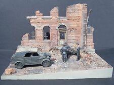 "Dioramas Plus 1/35 ""Italian Street Scene"" Ruined Building Section (w/Base) DP19"
