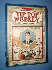 1908  *  TIP TOP WEEKLY  *  baseball story