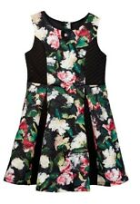 Pippa & Julie A-line floral Dress Girls size 12 Christmas Thanksgiving NEW wTags