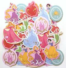 Disney Princess Flake Sticker Cinderella Ariel Snow White Aurora Rapunzel JAPAN