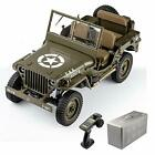 RocHobby RC Car 1/6 1941 MB Scaler Willys Jeep Remote Control Vehicle Military T