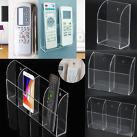 1/2/3/4 Case Acrylic TV Air Conditioner Remote Control Holder Case Storage Box