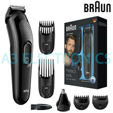 Braun MGK3020 Men Multi-Grooming Kit 6-in-1 Beard & Hair Clipper Trimming Shaver