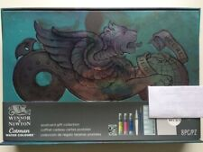 SALE! WINSOR NEWTON COTMAN WATERCOLOUR POSTCARD GIFT SET --- ONLY ONE ON EBAY