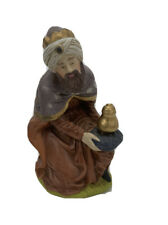 Vintage Porcelain Nativity Replacement Kneeling Wise Man King