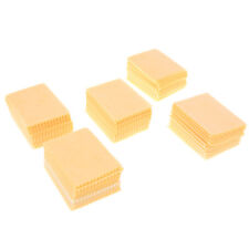 100pcs Yellow Microfiber Cleaning Cloths For Tablet Cell Phone Laptop LCD ScO_fi