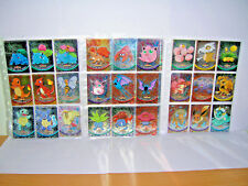 pokemon topps metal-chrome-holo-foil carte/card Fr pikachu/dracaufeu obscur/RARE