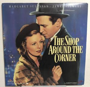 RARE! THE SHOP AROUND THE CORNER (1940) James Stewart - Laser Disc