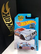2014 HOT WHEELS RLC FACTORY SEALED CITY DODGE CHARGER DRIFT POLICE - A10