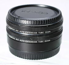 CONTAX 645 MACRO AUTO EXTENSION TUBES 13MM 26MM