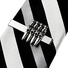 Skull Bullets Tie Clip