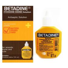 Betadine Antiseptic Wound Infection Solution 15 cc Povidone Iodine Exp.2020