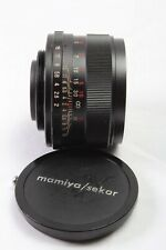 Rare!!! mamiya sekor Auto 50mm f2 Lens M42 mount With cap