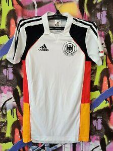 Germany Soccer National Team Deutscher Adidas 2009 Football Shirt Jersey Mens XS