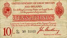 Great Britain P348 / T12 / TR2b 10 shillings (1915)