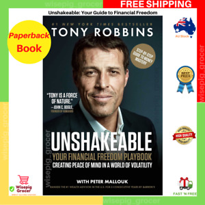 Unshakeable: Your Guide To Financial Freedom by Tony Robbins   NEW   FREE SHIP