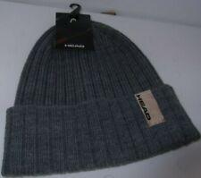 Mens Beanie Hat Grey By Head New Ref 421