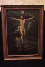 Quadro / Dipinto antico / Painting / olio su tela / cristo del 700' XVIII secolo