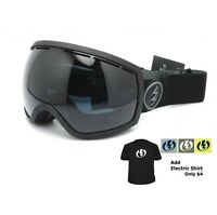 NEW Electric EG2 Matte Black Tropic Oversized mens ski snowboard goggles Ret$160
