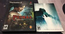 Primal (Sony PlayStation 2, 2003) PS2 CIB Complete in Box