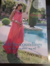 SOFT SURROUNDINGS CATALOG INDIAN SUMMER COLLECTION 2016 CLOTHING HOME BEAUTY NEW