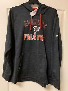 NEW W TAGS -Atlanta Falcons NFL Majestic TX3 Warm Hoodie Sweatshirt-2XL-MSRP $65