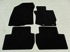 Mitsubishi Outlander (Manual) 2013-on Fully Tailored Deluxe Car Mats in Black