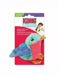 KONG Catnip Cat Kitten Crackles Tweetz Bird Toy