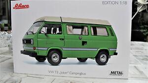 Schuco 1:18  Classic  45 003 8800 VW  T3a Camper Joker in grün