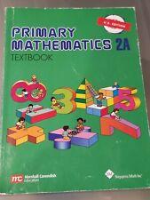 Singapore Math 2A Textbook