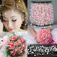 5M Pearl Garland String Acrylic Beads Plastic Garlands Wedding Party Decoration