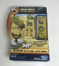 Hasbro Angry Birds Star Wars Jenga Game With Original Box And Packaging
