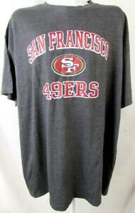 "San Francisco 49ers Big Men 3X-Large Screened ""VICTORY ARCH"" T-shirt ASNF 243"