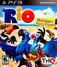 Rio RE-SEALED Sony PlayStation 3 PS PS GAME MOVIE