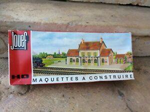 Gare de NEUVY JOUEF ANDRE PORTE ref 1979 échelle HO vintage jamais montée