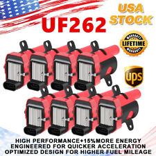 8 Pack Round Ignition Coils UF262 For Chevrolet GMC LS1 LS2 LS3 4.8L 5.3L 6.0L