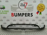 MERCEDES GLC GENUINE X253 FRONT BUMPER LOWER SKIRT GRILL TRIM P/N: A2538850565