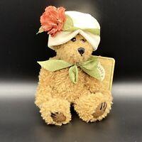 """Boyds Bears CARMELA Plush Jointed Stuffed Animal Teddy Bear Carmella TAGS 6"""""""