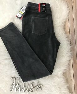 NWT Style & Co Womens M Carbon Gray Pull On Legging Comfort Waist Mid Rise $42