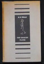 The Croquet Player H.G. Wells HBk 1st American ed. Illusts by Clifton Line VG-