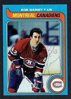 Bob Gainey #170 signed autograph auto 1979-80 Topps Hockey Trading Card