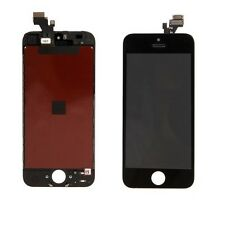 Vetro Touch screen con Display LCD originale assemblato PER iPhone 5 NERO -