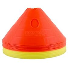 Diamond Football 20 x Superdomes with Hanger. Training, Marker, Large Cone Set