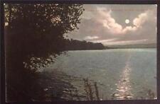 Canadarago Lake by Moonlight, Richfield Springs, N.Y. 1908 American News C12919
