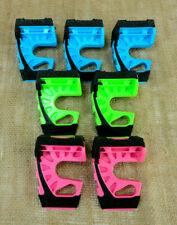 WEDGE IT 3 in 1 Plastic Door Stop 3 Different Colors Lot Set Pack of 7