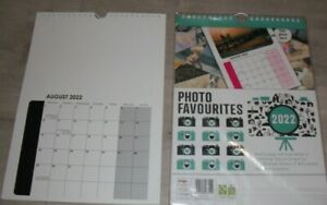 2022 Photo Favourites, Print Your Own Photos & Create; Hanging Wall Calendar A4