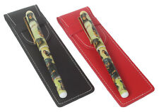More details for rottweiler breed of dog pen choose either red or black pen case perfect gift